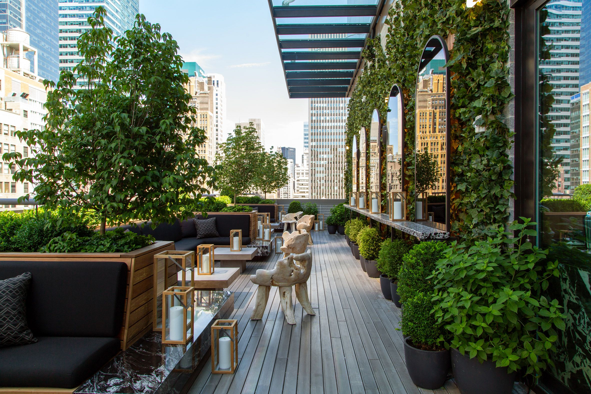 Castell rooftop bar by BHDM offers cosy setting with ...