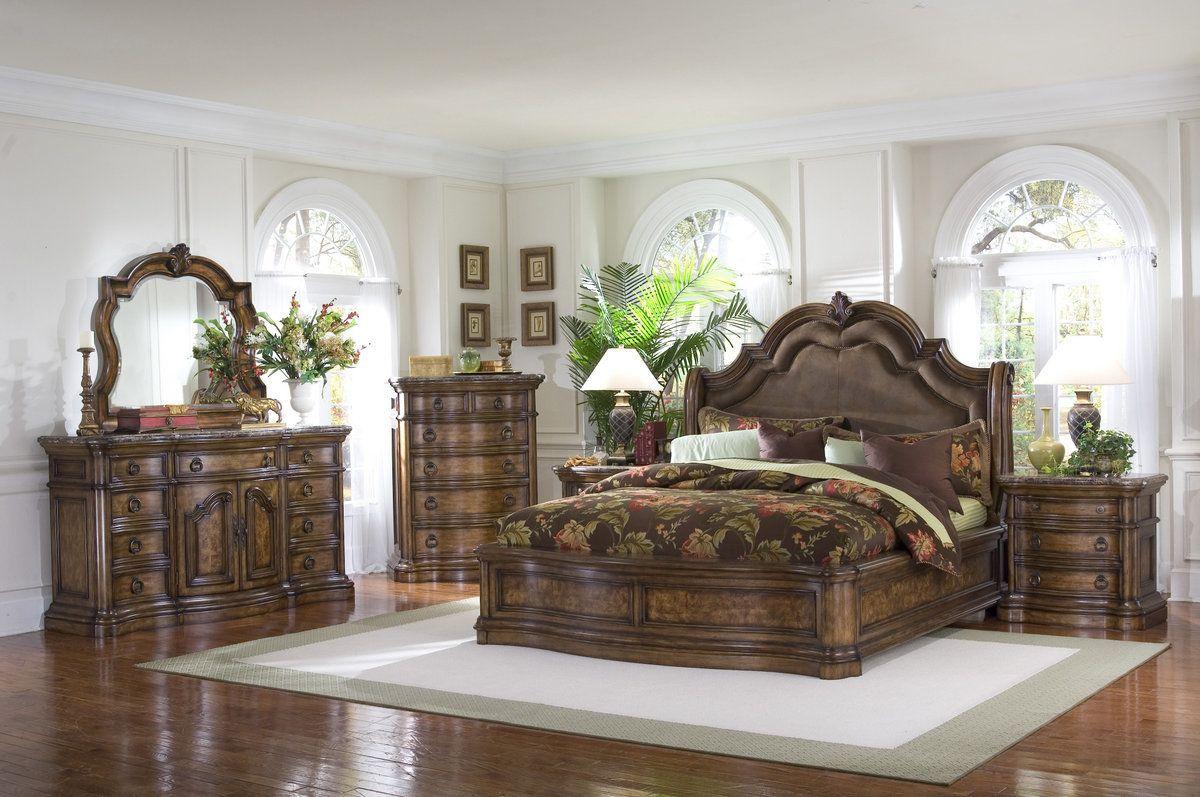 Pulaski San Mateo Sleigh Bedroom Set
