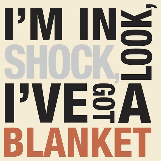 """Sherlock blanket quote typography"""