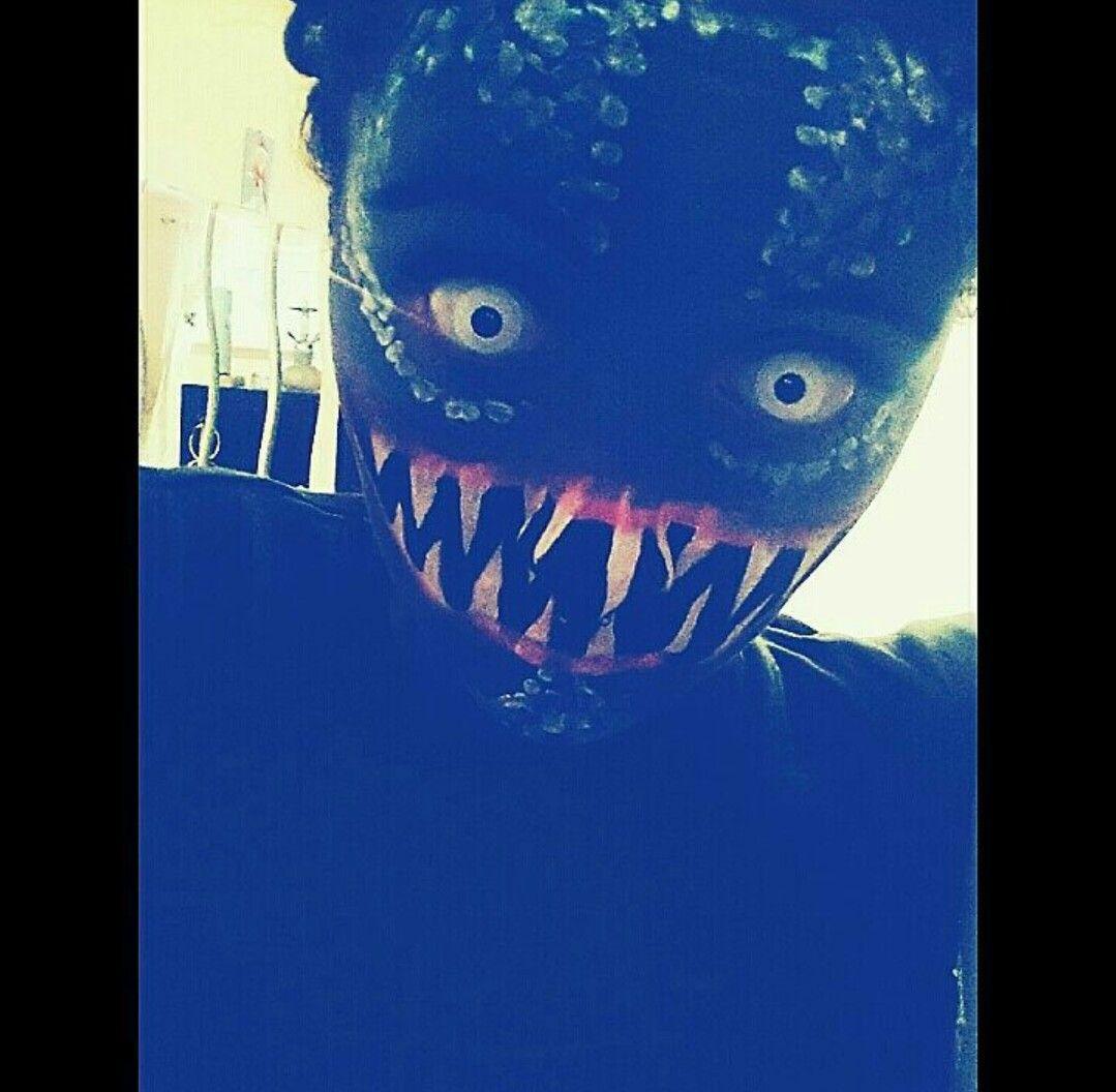 Halloween Makeup  Monster schminke für Halloween