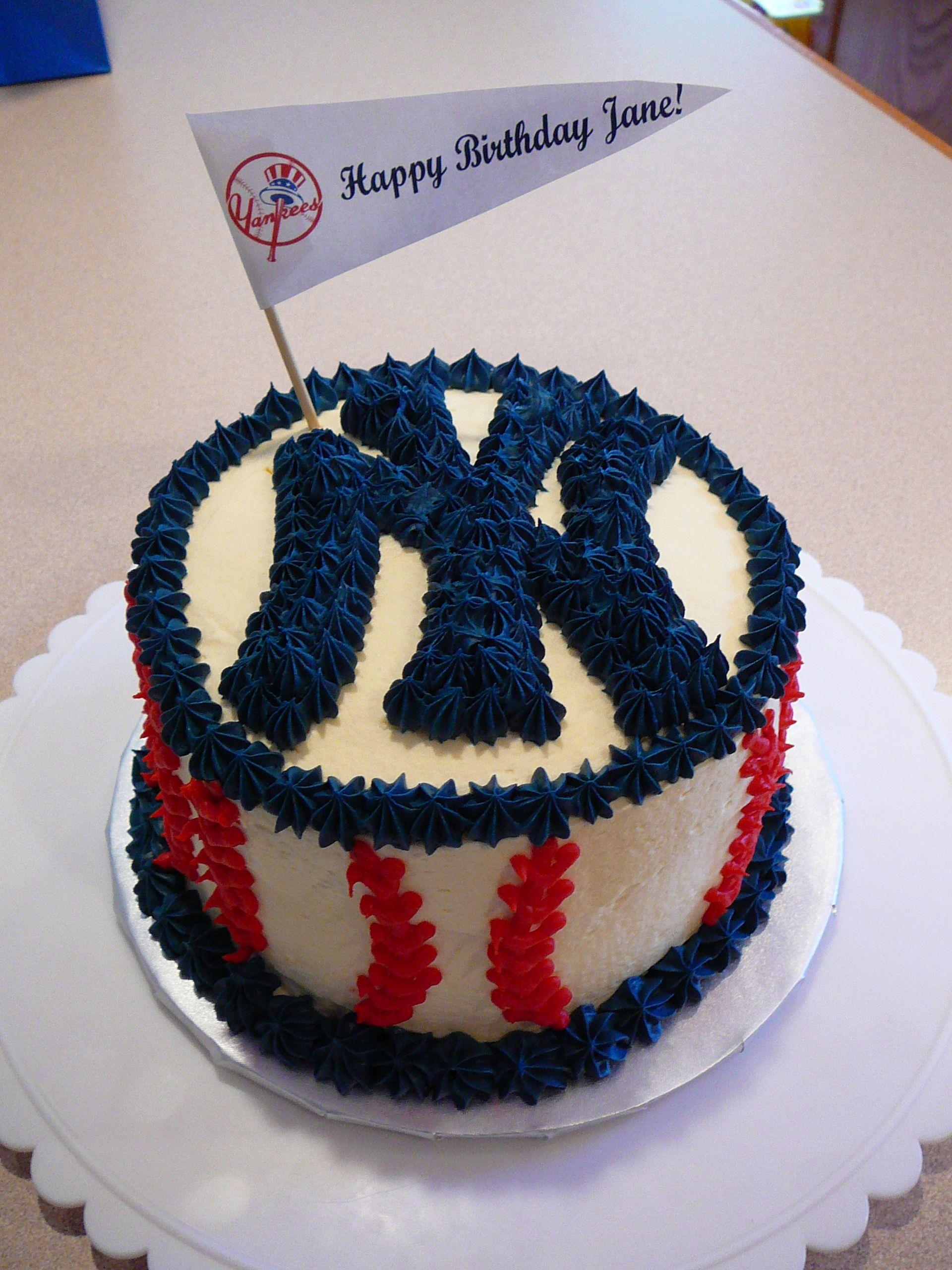 Pin By Kim Garrett On Cakes Yankee Cake Birthday Sheet Cakes Cake