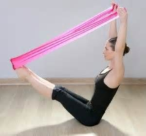 Yoga Poses With Resistance Bands - - Yahoo Image Search Results