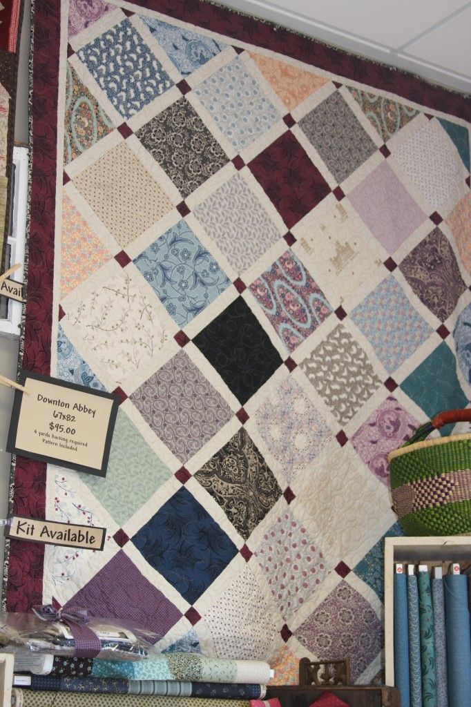 Downton Abbey Quilt Patterns Downton Abbey Fabric Quilting