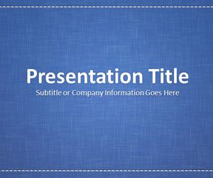 linen blue powerpoint template is a professional looking powerpoint