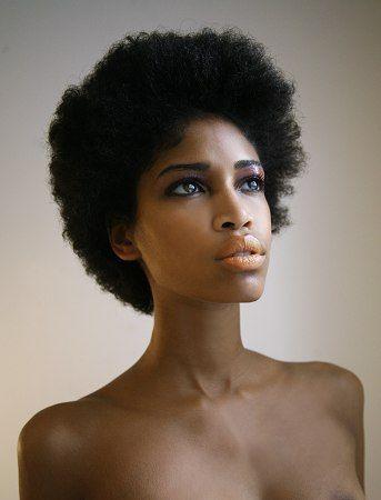 Simple afro Femmes Noires Cheveux, Cheveux naturels et