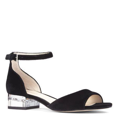 Volor Open Toe Sandals Black Sandals Heels Block Heels Sandal Heels
