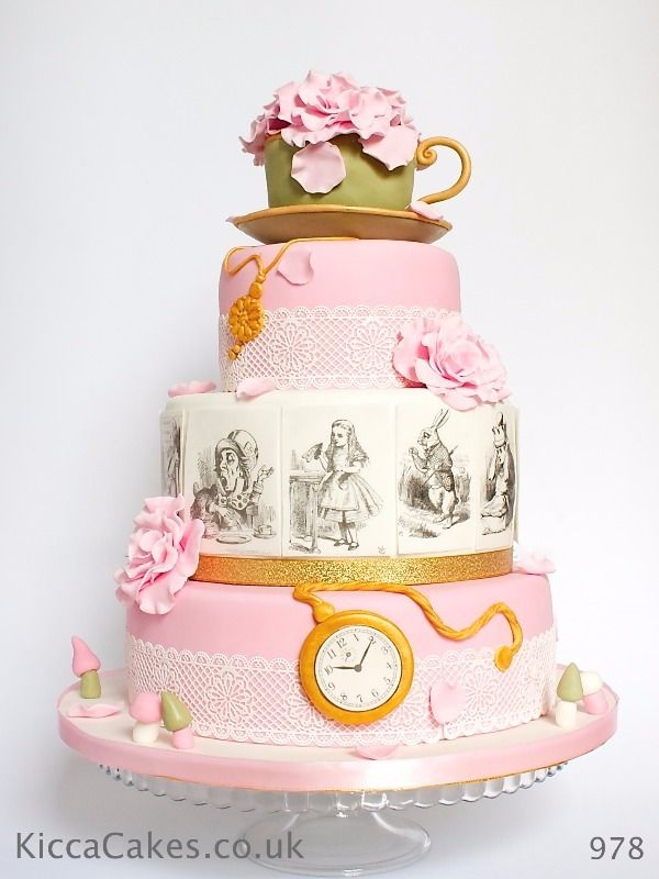 Cakes Wonderland Wedding Cake Alice In Wonderland Wedding Cake