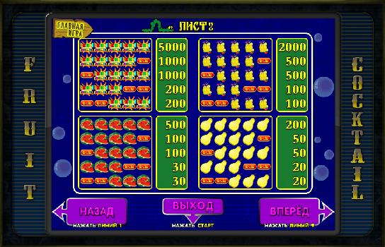 Игровые автоматы через интернет фкруктовый коктейль клубники 101 карты онлайн играть бесплатно на русском языке