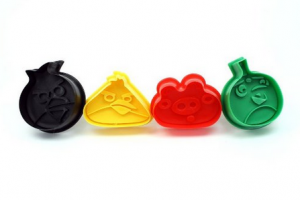 Angry Birds Cookie Cutters – $2.99 Shipped