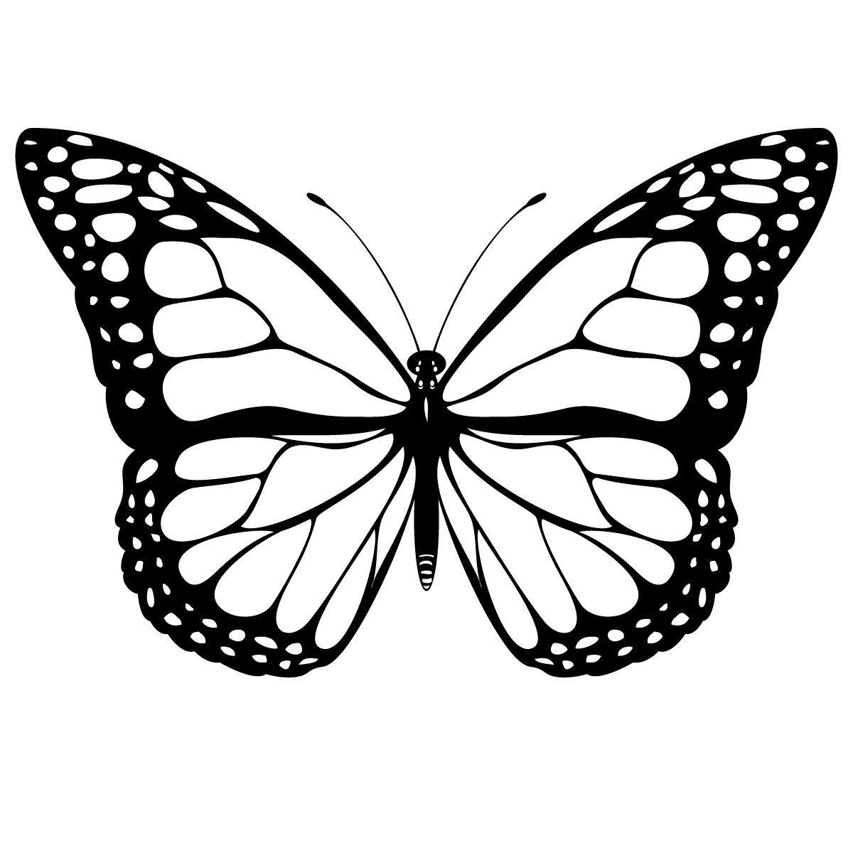 Coloriage Famille Papillon.Coloriage Papillon Les Beaux Dessins De Animaux A Imprimer Et