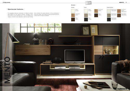 Hochwertige Wohnzimmermöbel ~ Mento hülsta living room pinterest hülsta