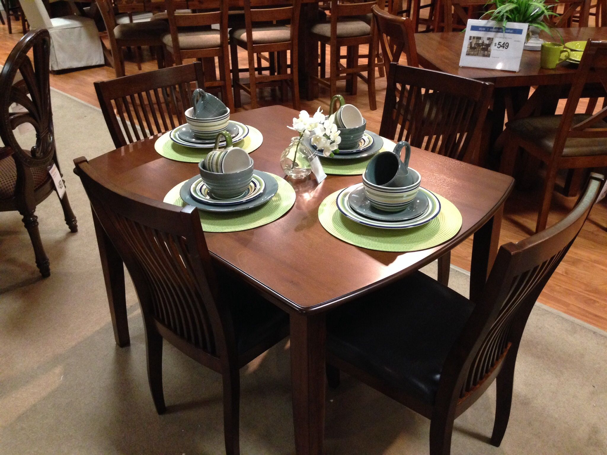 14 Pc Dining Room Place Settings At Virginia Beach Homestore Cool The Room Place Dining Room Sets Design Ideas