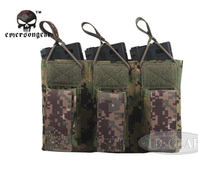 CONDOR Triple MOLLE Porte Chargeur Tactique Armee Pouch Multicam