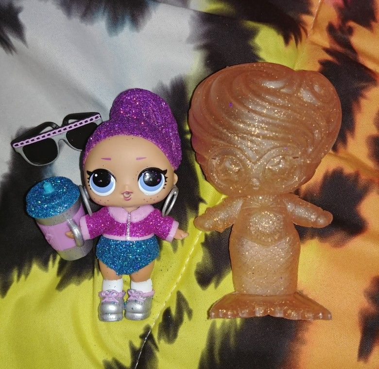 toy LOL SURPRISE Dolls UNDER WRAPS BLING QUEEN Glitter Series Real L.O.L