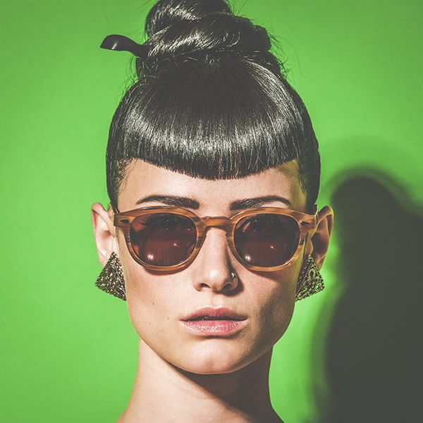 Cool hairstyle & bangs || EGO IN PROMINENCE by Lars Brandt Stisen, via Behance