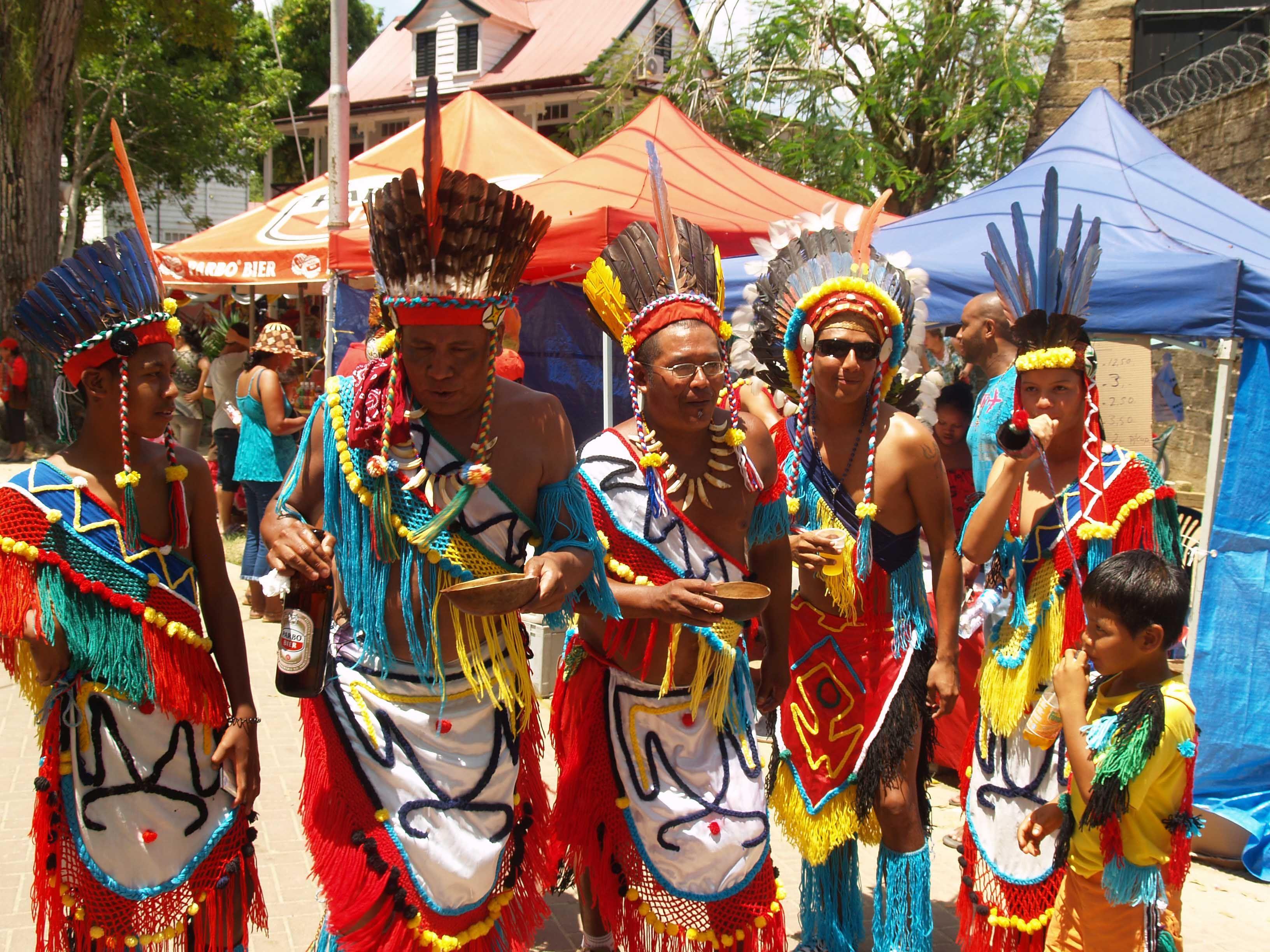 Babel Tower Holiday, Suriname, Indigenous people   Peuple ...   Arawak Indians Suriname South America