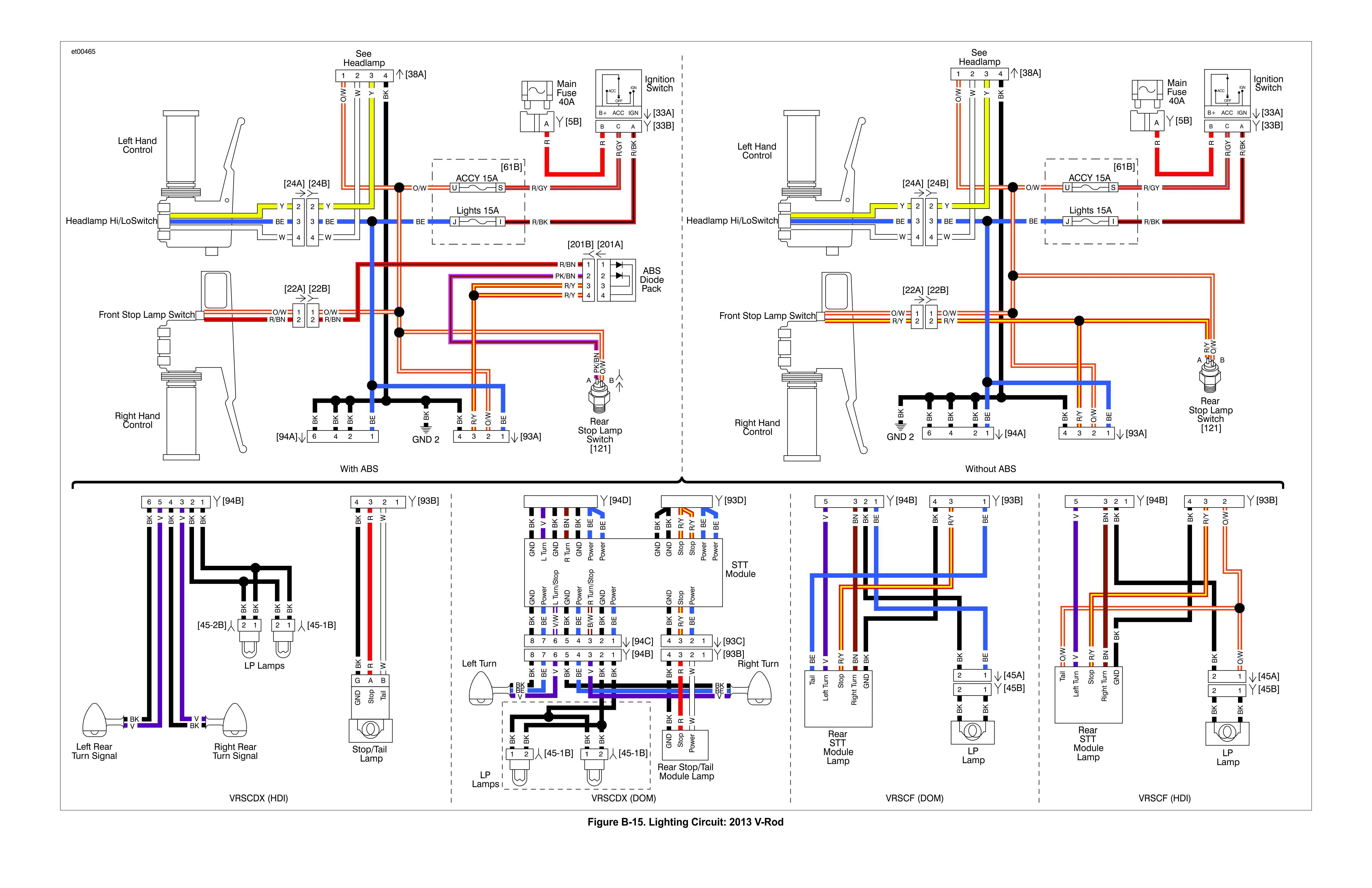Speed Tech Lights Wiring Diagram Awesome V Rod Wiring Diagram Wiring Diagram   MCHD