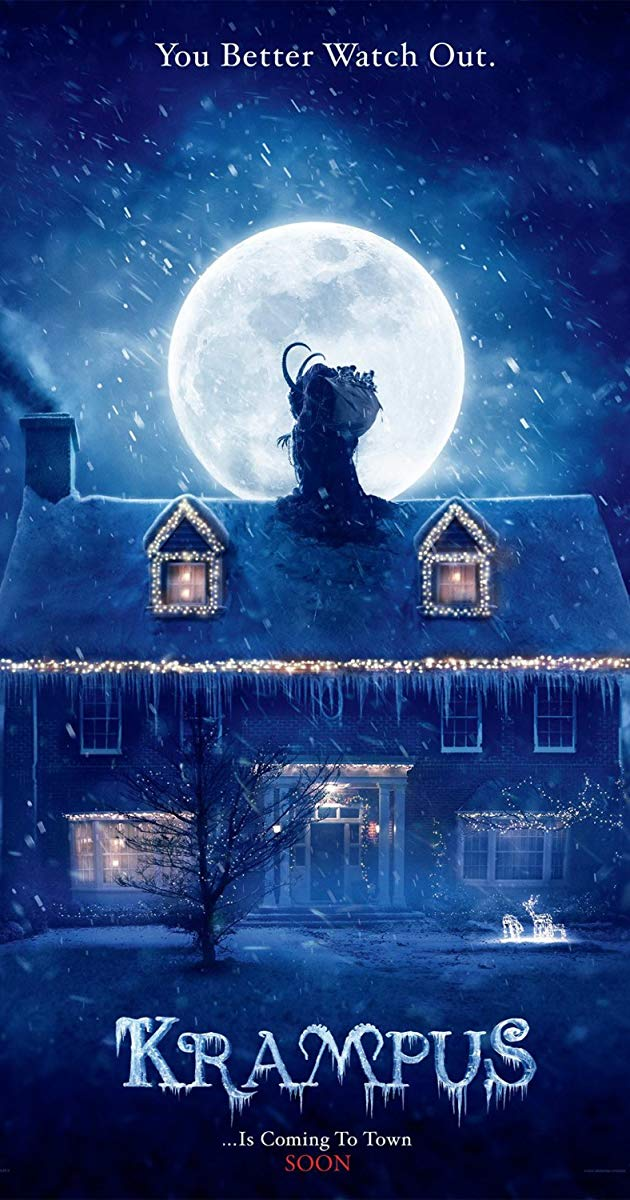 Directed By Michael Dougherty With Adam Scott Toni Collette David Koechner Allison Tolman A Boy Who Has A Bad Chris Krampus Movie Krampus Creepy Christmas