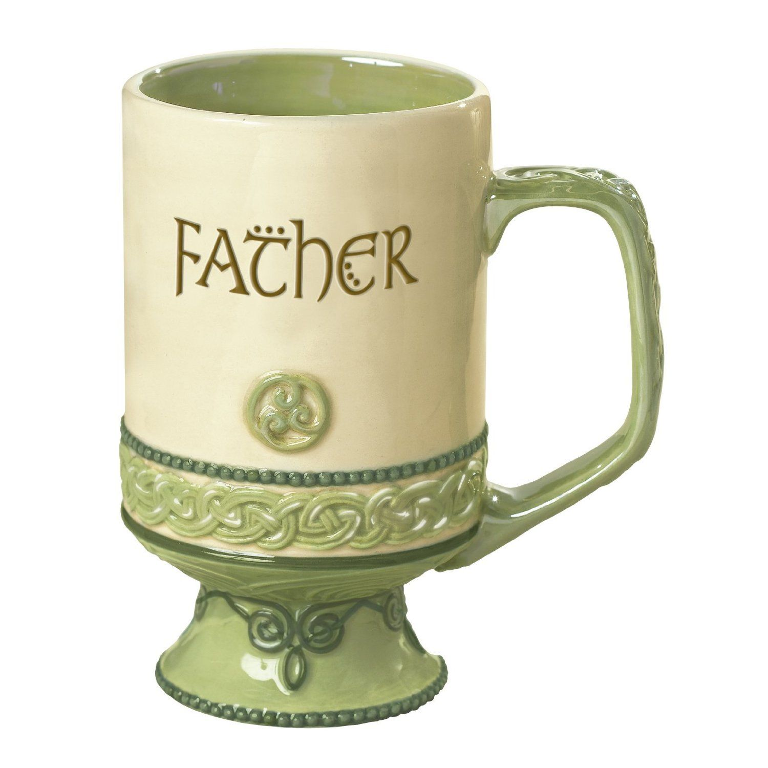 Grasslands Road Celtic 12 Ounce Father Coffee Mug With May The Road