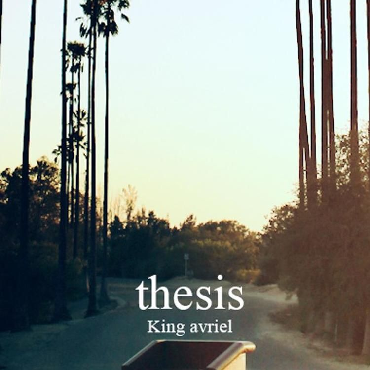 king avriel thesis booklet