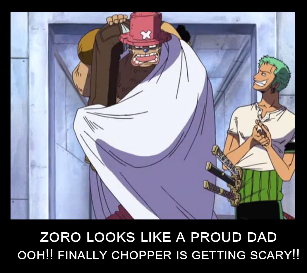 Let S Just All Agree Chopper Is Zoro S Baby With Images One