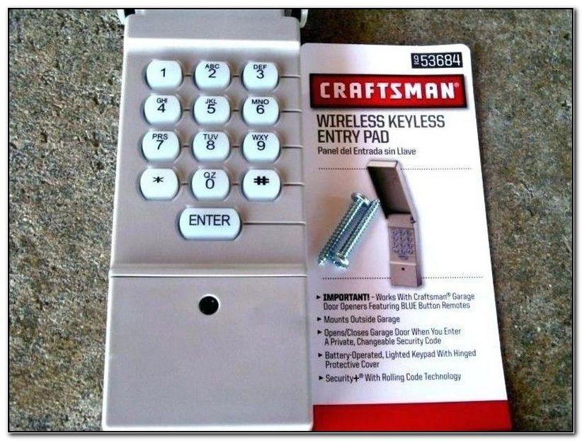 Stanley Garage Door Opener Wired Keypad Craftsman Garage Door