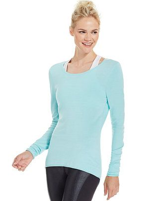 Soybu Yvette Racerback Tunic - Active Tops - Women - Macy's
