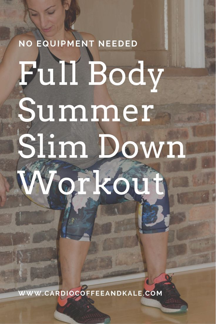 Workout plan to slim down