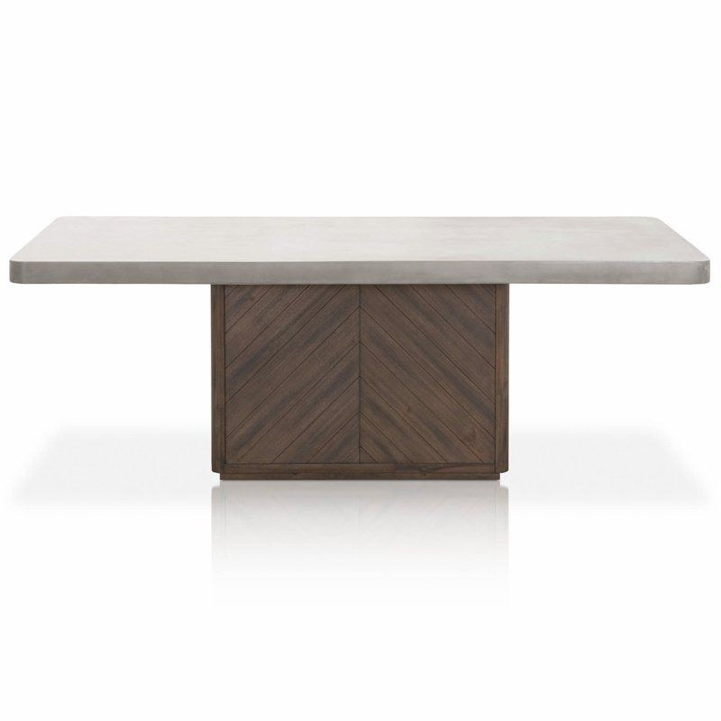 35++ Small concrete dining table Trending