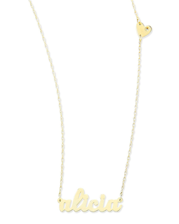 65908dd41a561 Jennifer Zeuner Jewelry Abigail-Style Personalized Name Necklace ...