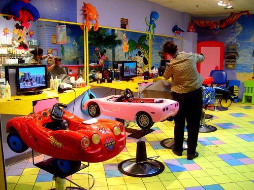 Colorful Kids Salon Interior Design Like A Playroom Salon Interior Design Kids Salon Salon Interior Design Salon Interior