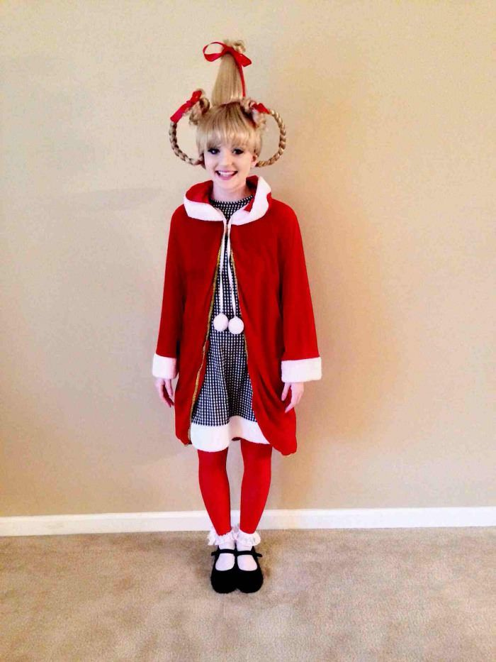 Ten Christmas Ornaments Dyi By Cindy Lou Who In 2020 Cindy Lou Who   Cindy lou who costume, Cindy loo who costume