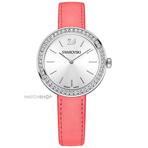 SWAROVSKI LADIES DAYTIME PINK SWISS WATCH 5187561 -- Click image to review more details.