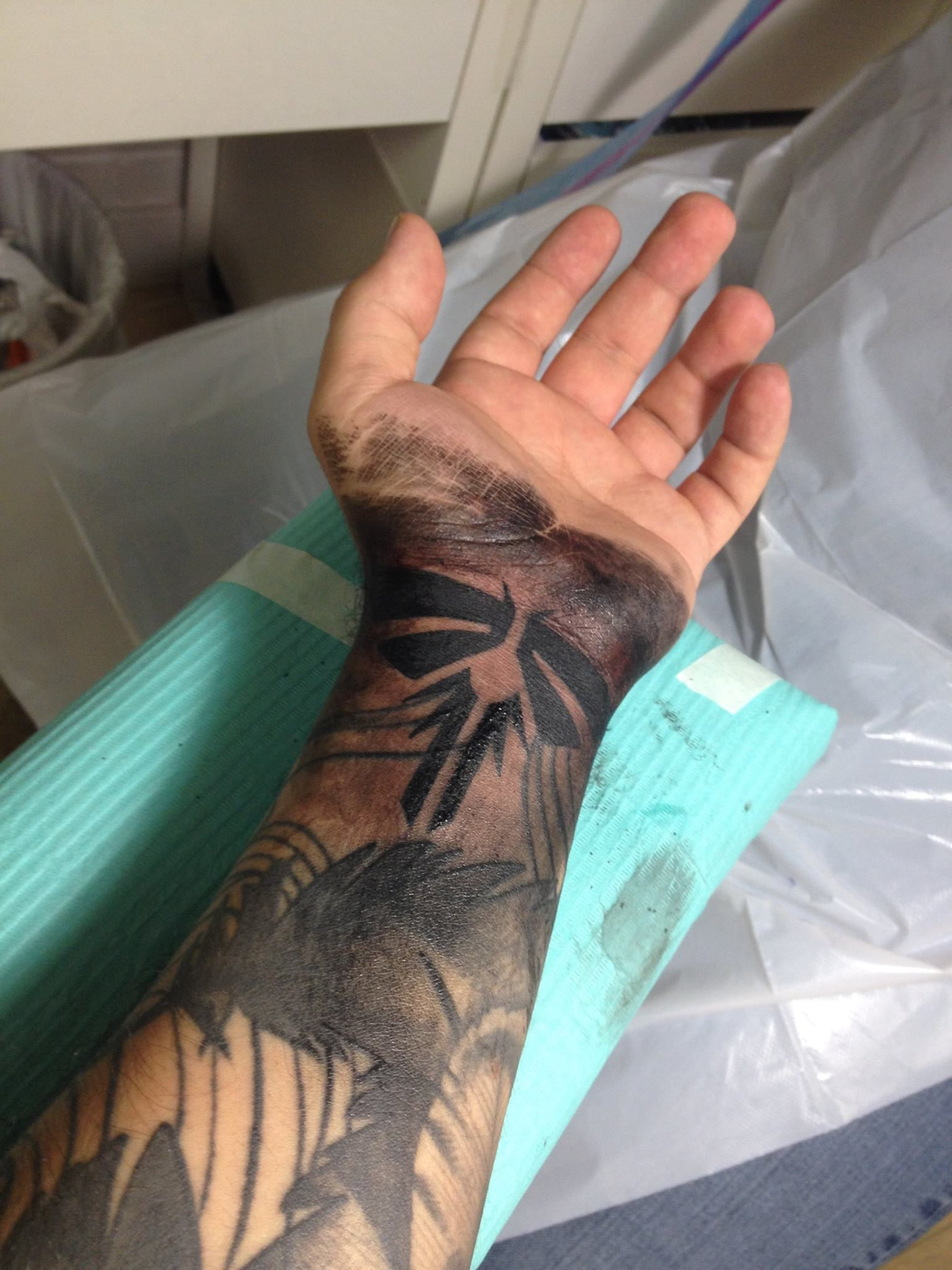 The o jays butterfly tattoos and clothes on pinterest - The Last Of Us Firefly Tattoo