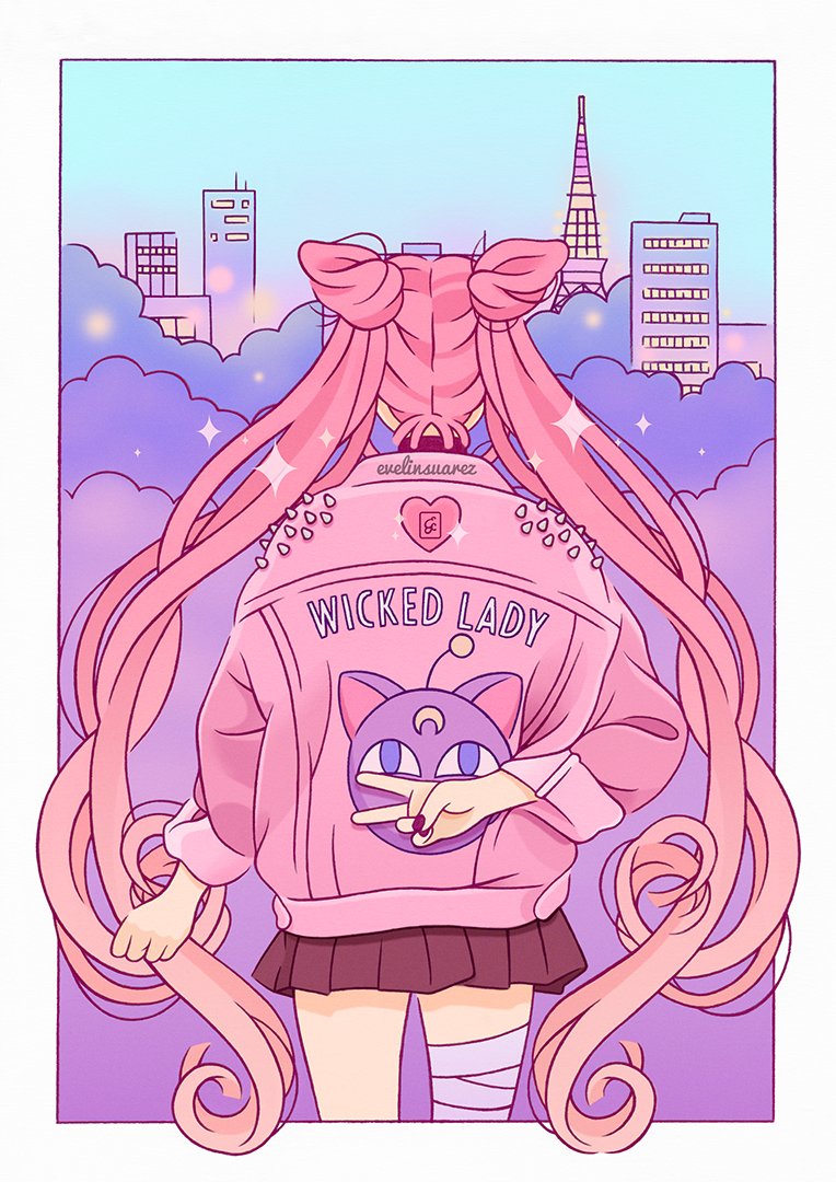 Pin by marisol on Clothing   Sailor moon art, Sailor moon ...