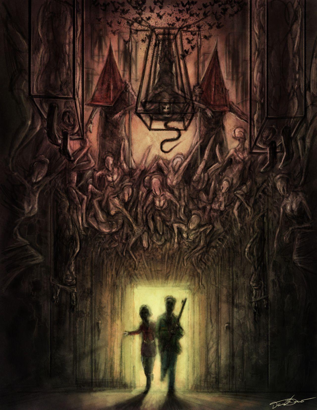 Silent Hiill Fanartsi Silent Hill Art Silent Hill 2 Silent Hill Movies