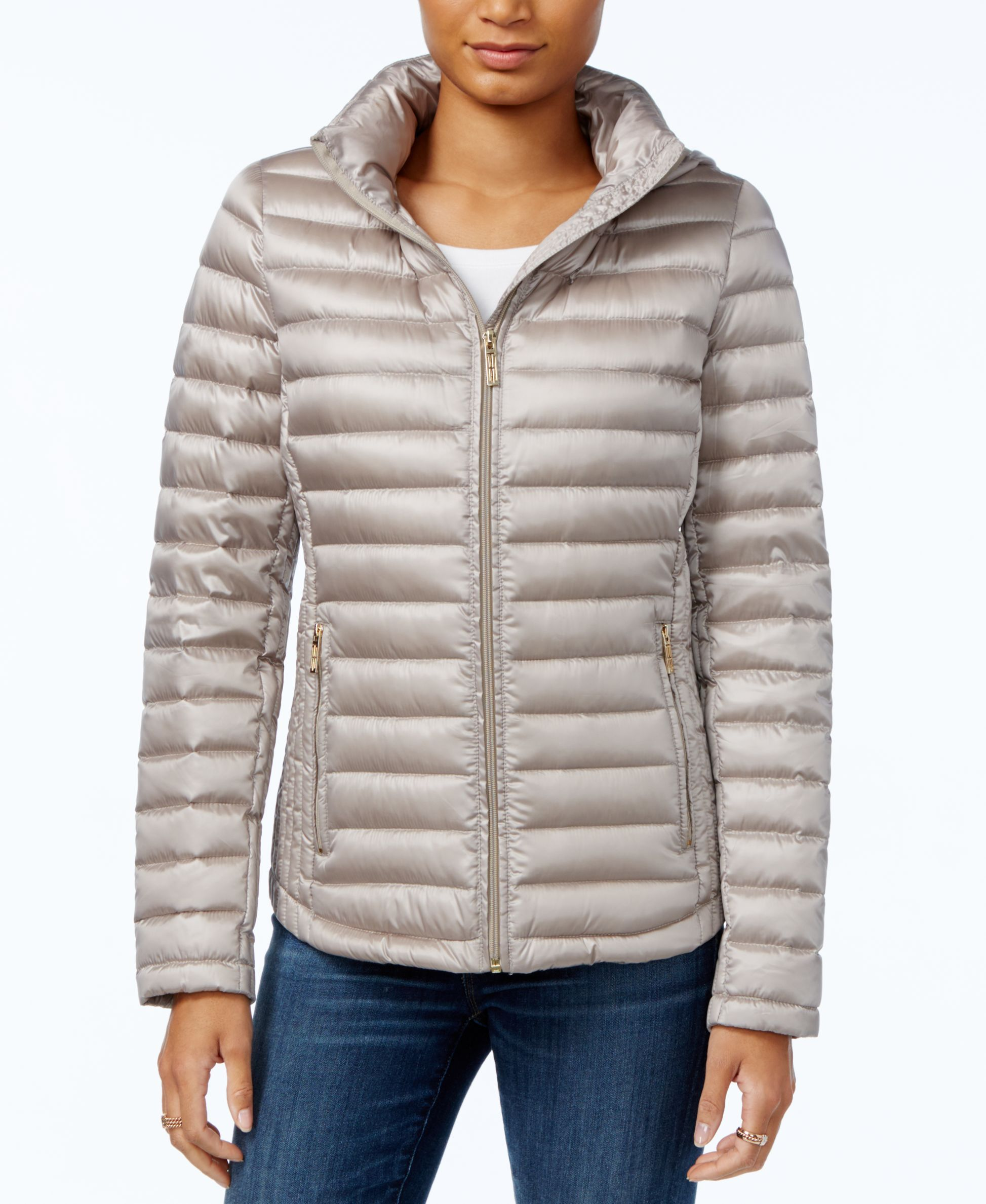 Tommy Hilfiger Hooded Puffer Jacket Only At Macy S Blazer Jackets For Women Puffer Jackets Jackets [ 2378 x 1947 Pixel ]