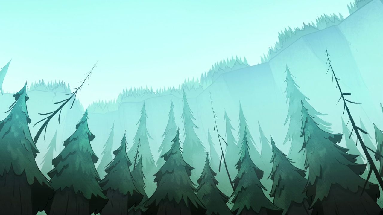 Gravity Falls Background