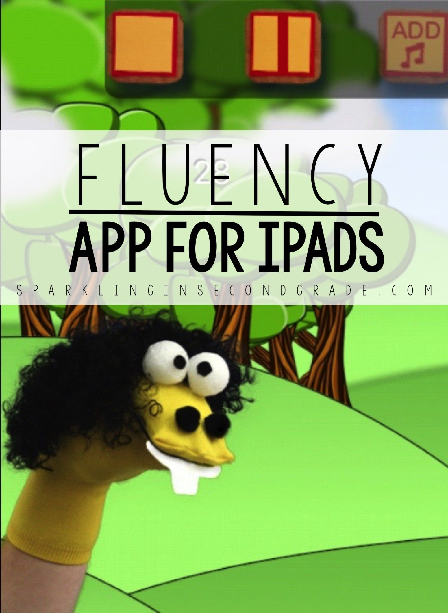 """Here is a great app for practicing fluency called """"Sock Puppets"""". Get your students excited to be fluent readers!"""