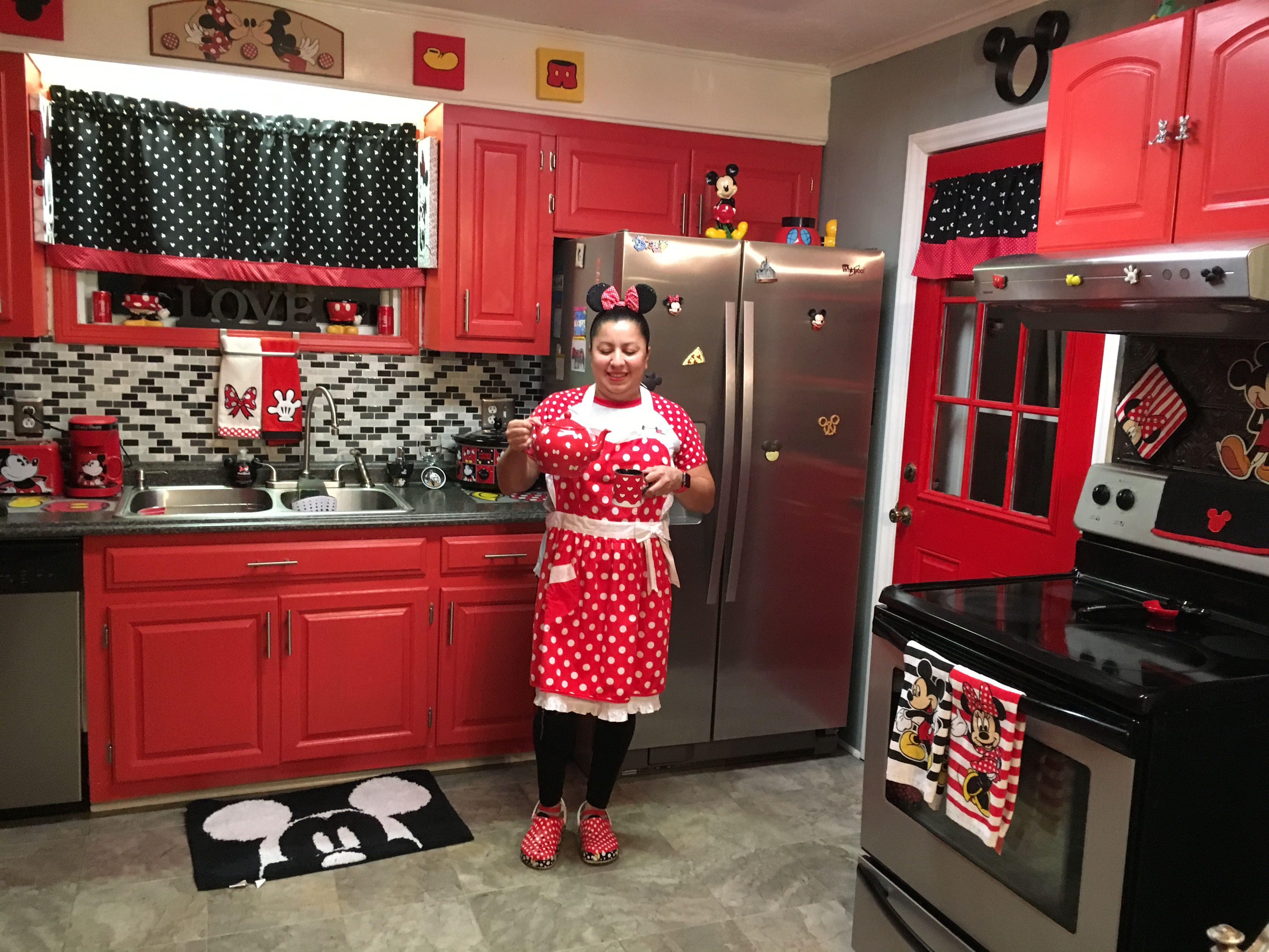 Minnie Mouse National Polka Dots Mickey Kitchen Decor Disney