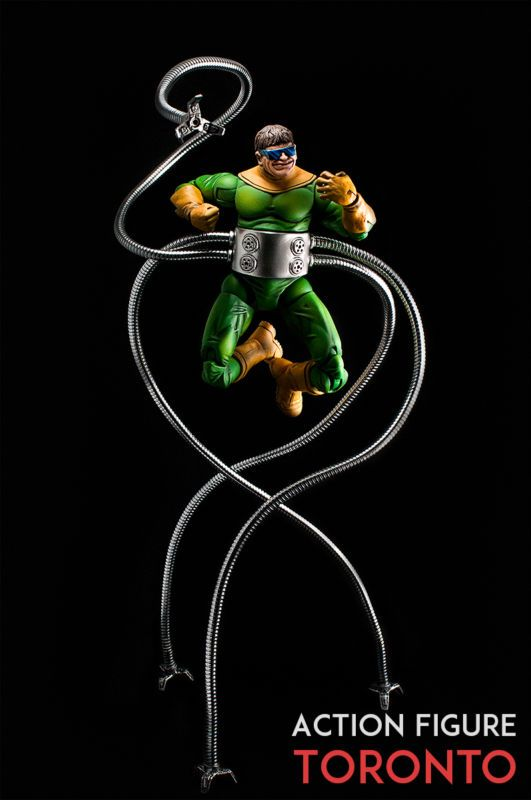Doctor Octopus (Doc Ock) (Marvel Legends) Custom Action ...