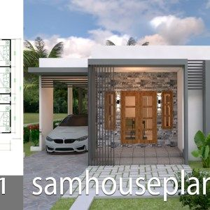 Home Design Plan 13x18m With 5 Bedrooms Home Ideas Small House Design Plans Small House Design Bungalow House Design