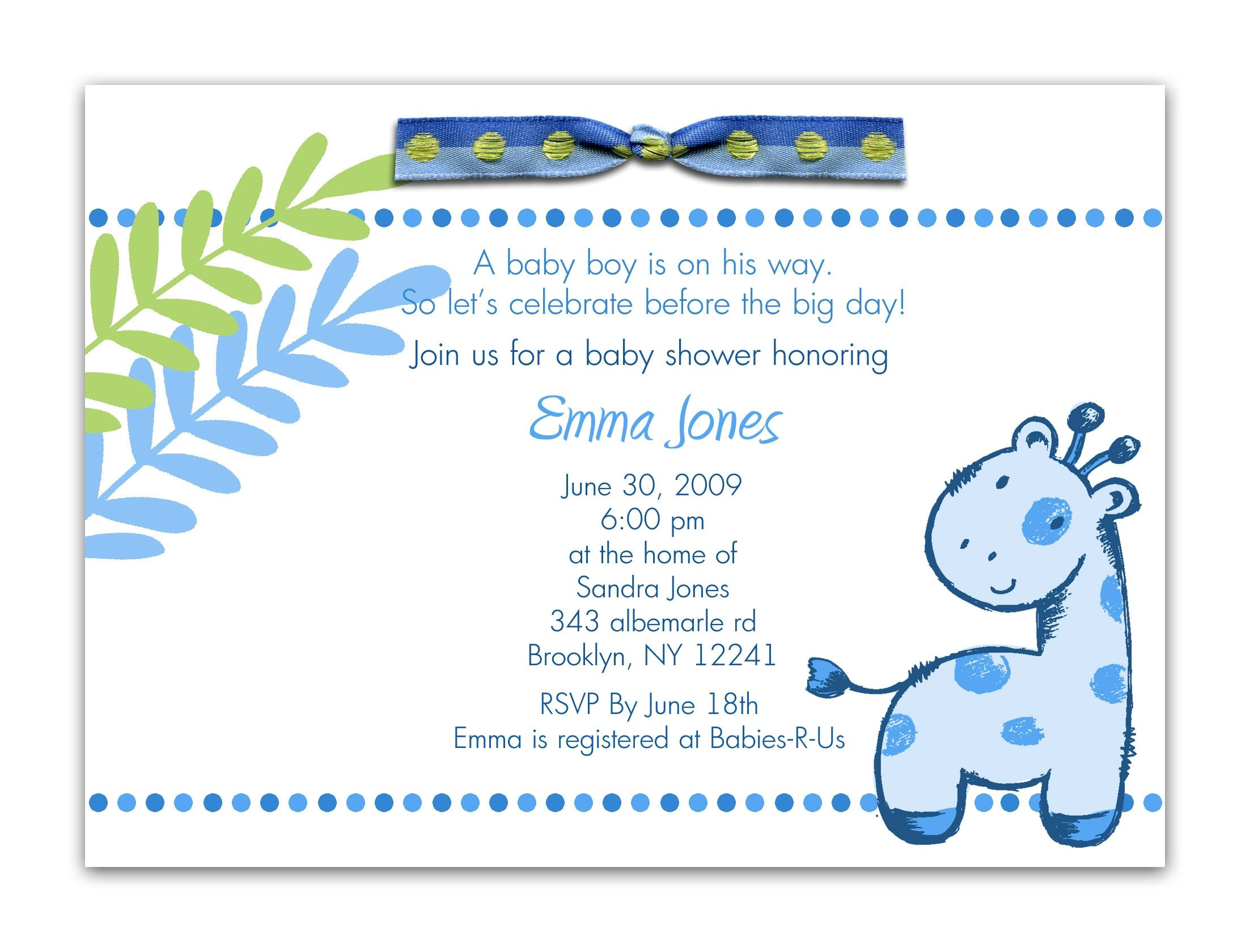 Cute Baby Shower Sayings For Boy Baby Shower Boys Baby Boy