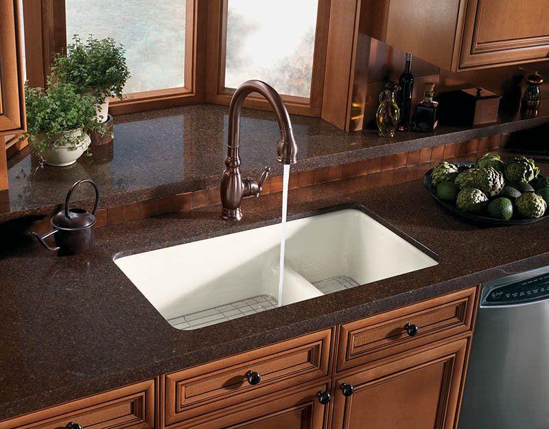 Kohler K 6625 Cast Iron Kitchen Sinks Sink Countertop