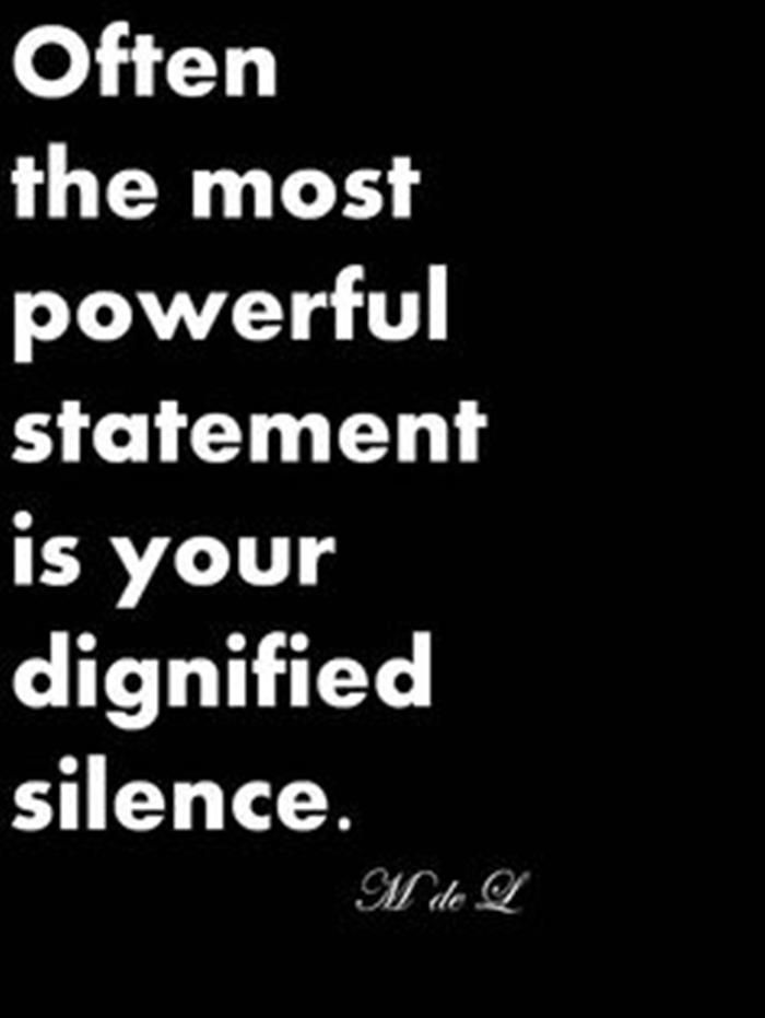 Quotes Of The Day – 13 Pics | Quotes + Words | Quotes, Silence