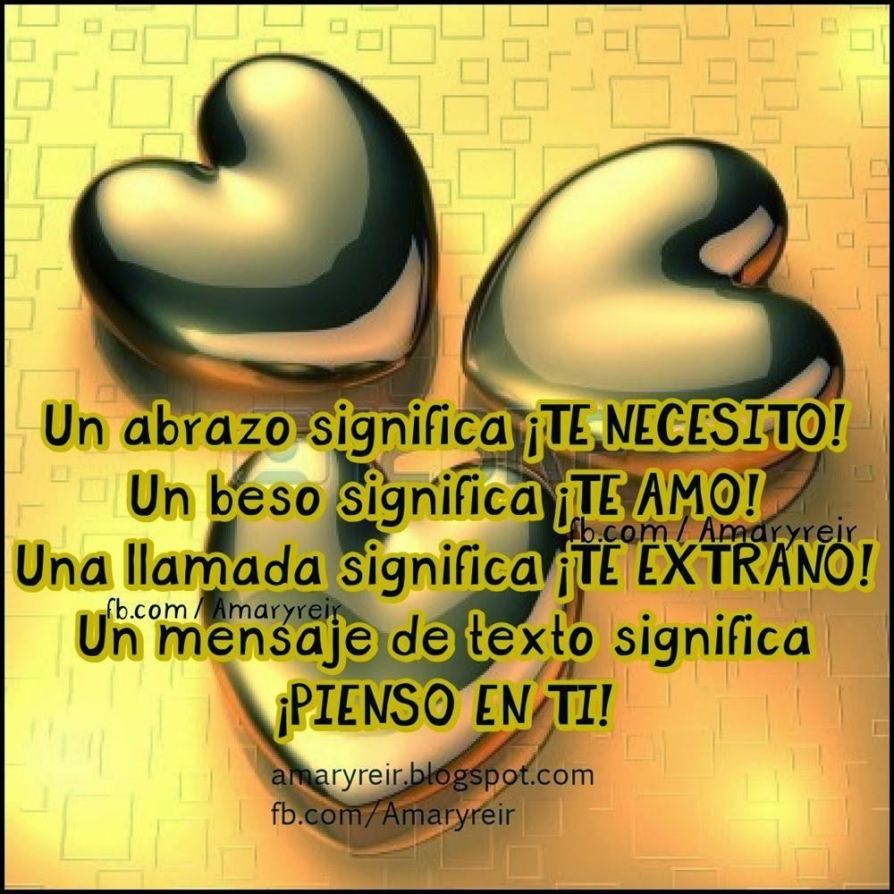 Amor Mio ღ Eyiz Una Llamada Significa Te Extrano Click Para Ver