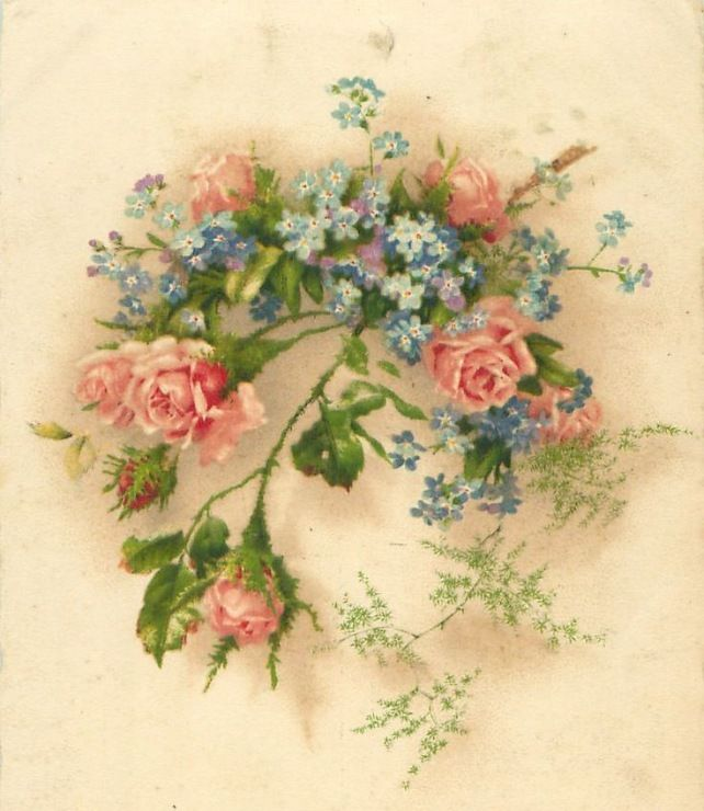 салоны поздравления с днем рождения цветы картинки винтаж идеале