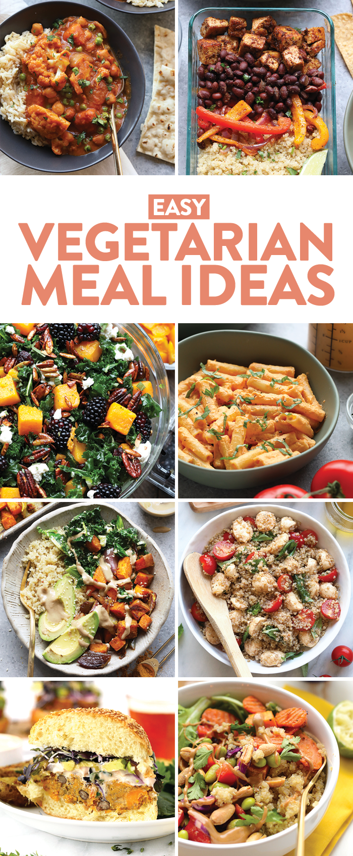 Anybody Else Love A Good Meal Prepped Dinner That S Ready To Go When You Get Home From Wo Vegetarian Recipes Easy Vegetarian Recipes Healthy Vegetarian Recipes