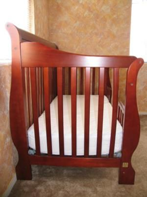 Simplicity Four In 1 Crib Convertible Sleigh Baby Crib Wanted I