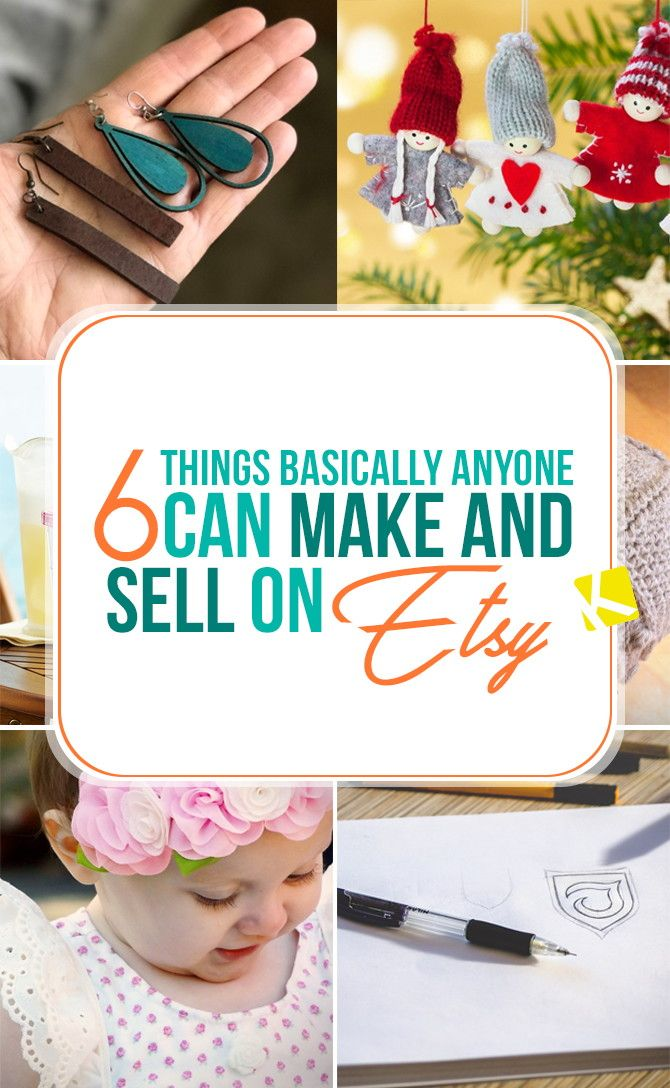6 Things Basically Anyone Can Make and Sell on Etsy (With